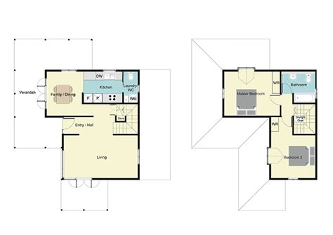 Two Level Floor Plans by Classic Colonial Style Nz House Plans Vintage House Plan