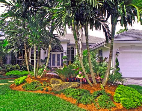 south florida landscaping tropical landscape miami by bamboo landscaping and services inc