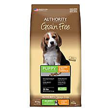 petsmart grain free food authority 174 grain free puppy food chicken pea food petsmart