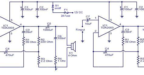 Ic Tda2003 Ic Tda 2003 Aj02 car audio lifier using tda2003 ic diagram solution
