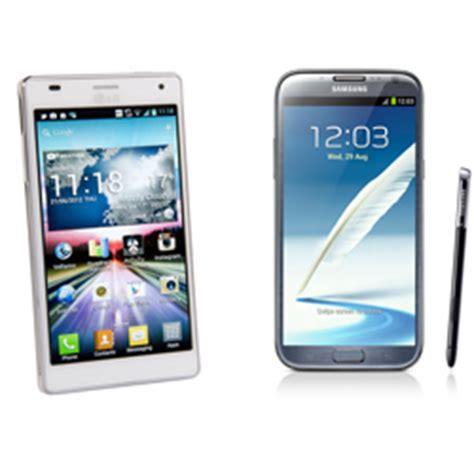 Hp Lg Optimus Note lg optimus 4x hd vs samsung galaxy note ii review and specs
