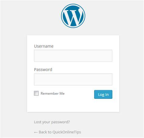 wordpress login layout how to change wordpress login page logo background