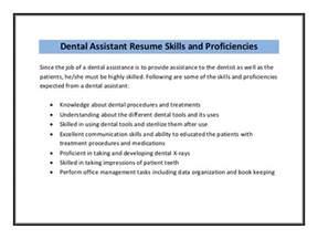 Dental Assistant Resume Sample Pdf