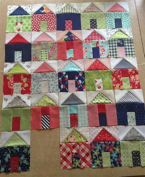 quilt pattern village pat sloan group of villages house quilt block house quilt