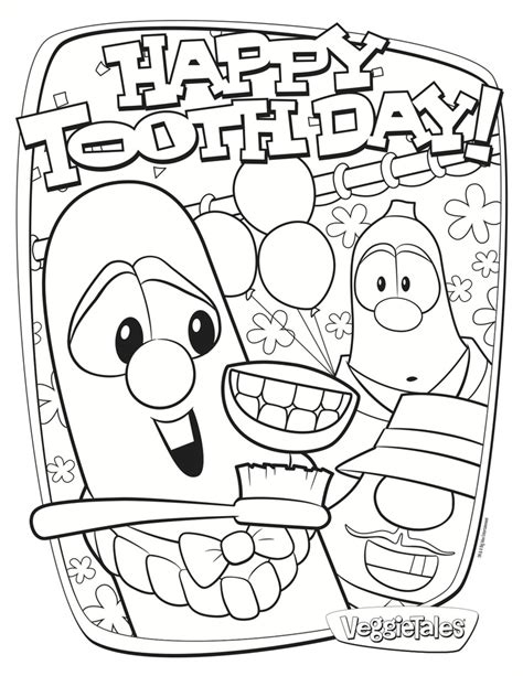 sad tooth free dental coloring pages 3657