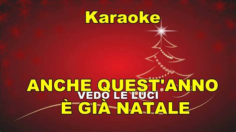 karaoke anche quest anno 200 gi 192 natale canzoni di natale