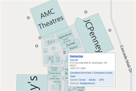 layout of burlington mall bellevue square mall store map pictures to pin on