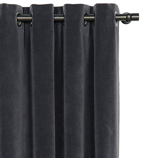 charcoal curtain panels luxury bedding by eastern accents jackson charcoal