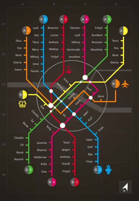 Subway Map Infographic Powerpoint Template Cool Infographic Templates