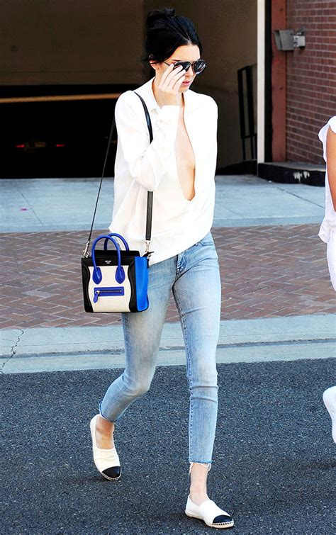 Design Your Own T Shirt kendall jenner loves her c 233 line nano luggage totes more