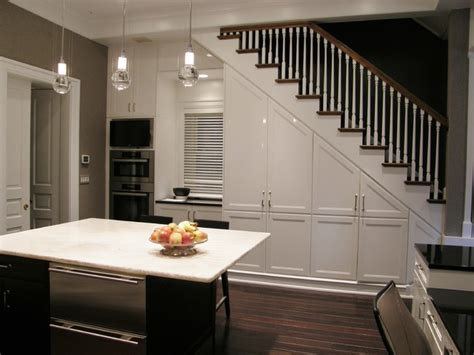 Inter Stairs And Kitchen Design 19 Space Saving Stairs Kitchens You Need To See