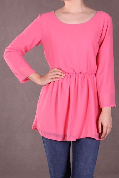 Nifty Blouse thrifty nifty pre loved blouse pink