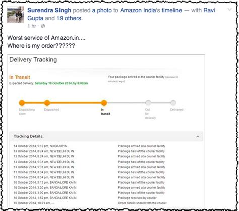 amazon id amazon starts using india post and screws up its delivery