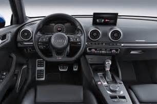 Audi A3 Sedan Interior 2017 Audi A3 And S3 To Get Updated Styling Safety