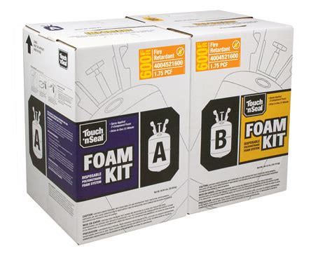 spray foam kits touch n seal cp 660 two component foam kit gic