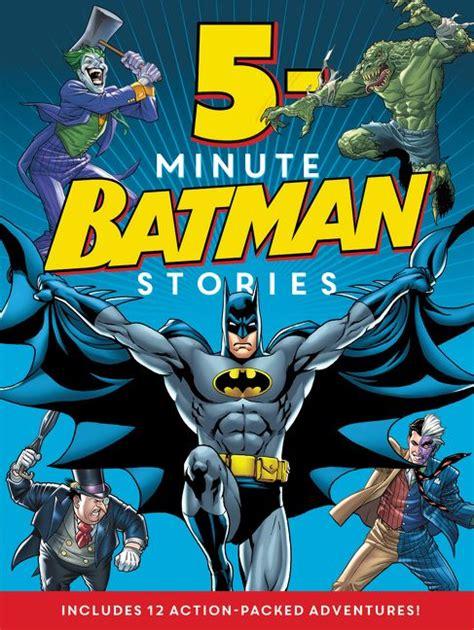 batman classic 5 minute batman stories various hardcover