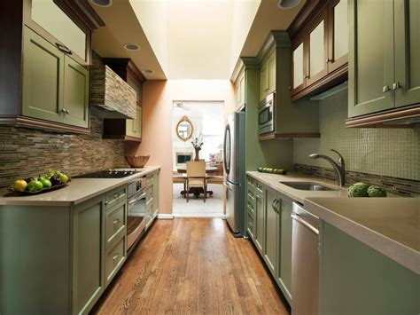ideas for galley kitchen small galley kitchen design pictures ideas from hgtv hgtv