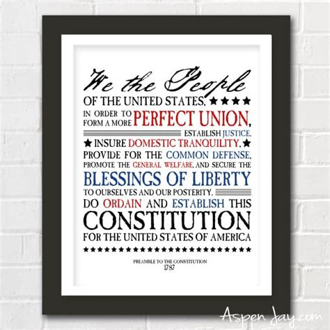 printable preamble us constitution the ultimate guide to 4th of july printables create