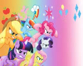 Image Fanmade Rainbow Power Mane Six And Spike Jpg My Little Pony » Home Design 2017