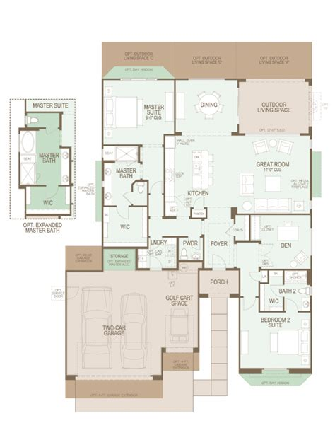 100 continental homes floor plans arizona