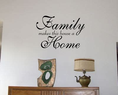 house wall stickers decals by digiflare wall decals family home
