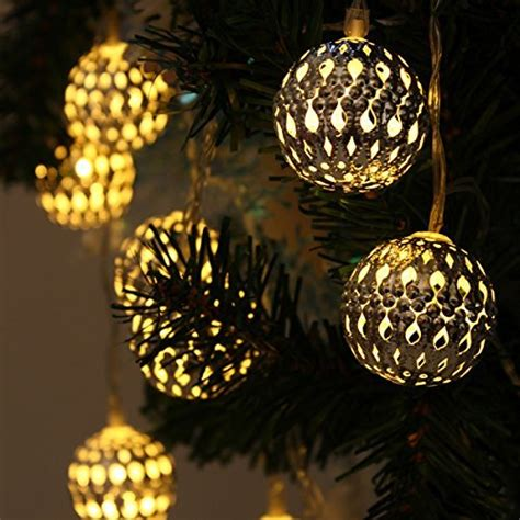 String Lights Lanterns Solar Gardens Yellow Moroccan Metal Metal Lantern String Lights