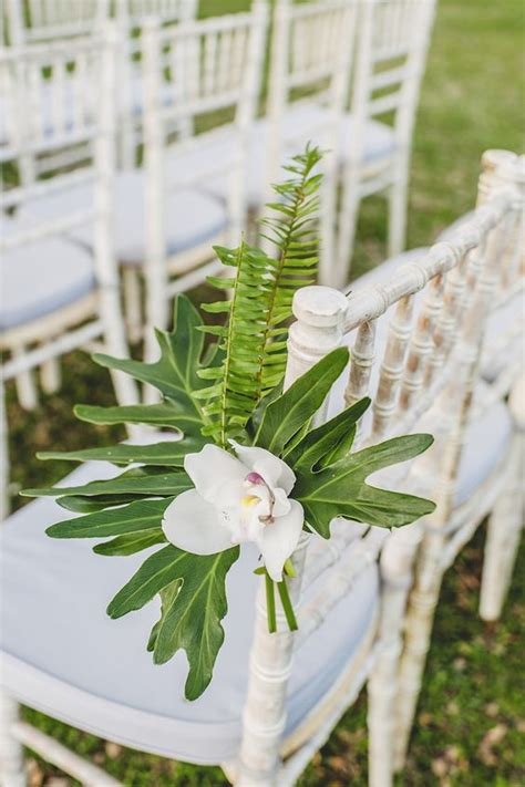 wedding aisle white 29 tropical wedding aisle d 233 cor ideas to try weddingomania