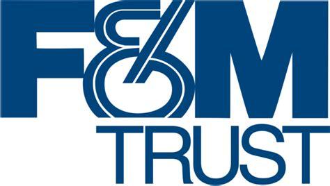f m bank and trust company f m trust logos