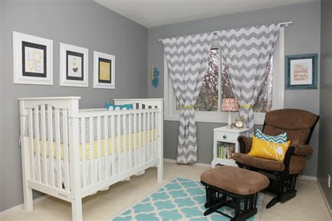 Yellow Bedroom Ideas by Eclectic Gender Neutral Nursery Project Nursery