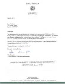 College Acceptance Letter Template Word School View From The Duck Pond