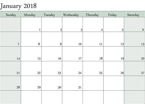year calendar printable templates printable