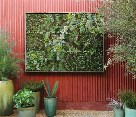 Small Wall Planter by 37 Garden Design Inspirations To Decorate Your