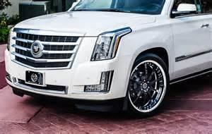 Rims For Cadillac Escalade California Wheels Cadillac Escalade On Savini Forged Sv26