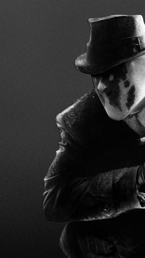 watchmen movies rorschach grayscale characters wallpaper
