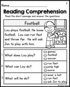 comprehension worksheets for grade 1 students 7 best