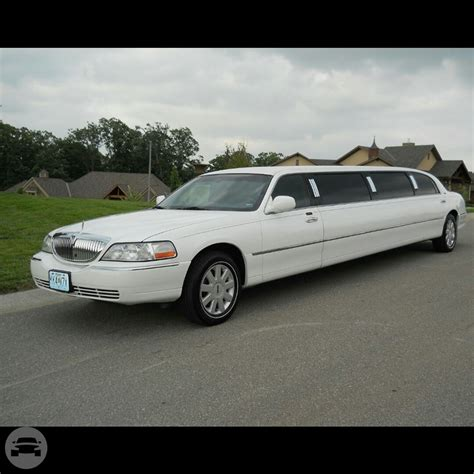 Stretch Limousine by 10 Passenger White Stretch Limousine Titan Limo Kc