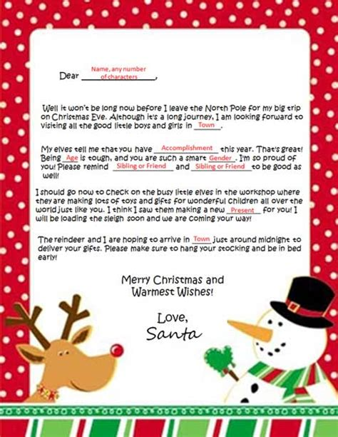 Official Letterhead From Pole santa letters from pole levelings