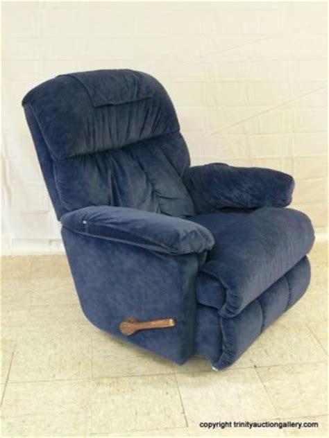 lazyboy swivel rocker recliner la z boy blue microfiber swivel rocker recliner
