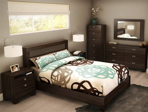 bedroom modern tropical bedroom design small room with
