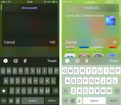 keyboard themes ios 7 cydia color keyboard and twitkafly for ios 7 cydia tweak updates