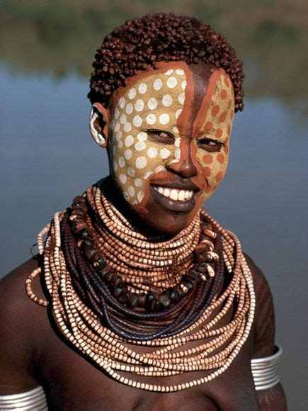 african tribal women face paint african woman face painting images
