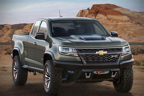 chevy concept truck chevrolet colorado zr2 concept road trucks never look