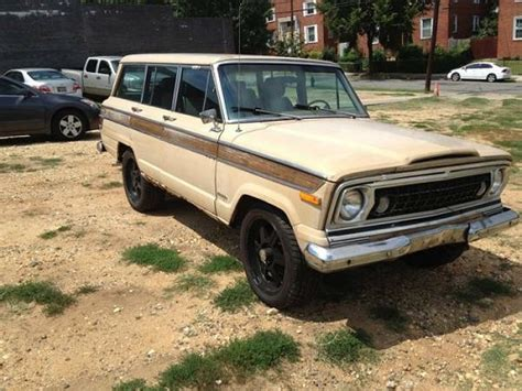 Jeeps For Sale In Northern Va 1977 Jeep Grand Wagoneer For Sale In Northern Virginia