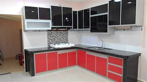 aluminium kitchen cabinet fully aluminium kitchen cabinet review youtube