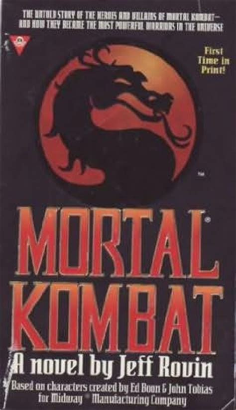 mortal kombat novel mortal kombat wiki fandom