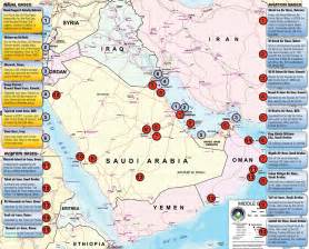 army bases map the middle east and iran us bases in the middle