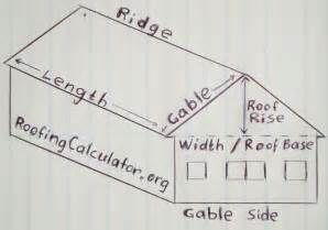 Calculate Square Footage Of A House How To Calculate Square Footage Of A Roof With Different