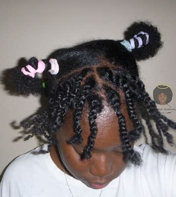 what rubber band for afro puff natural hairstyle connected rubber band twists with puff