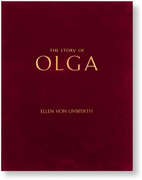 olga books unwerth the story of olga limited edition