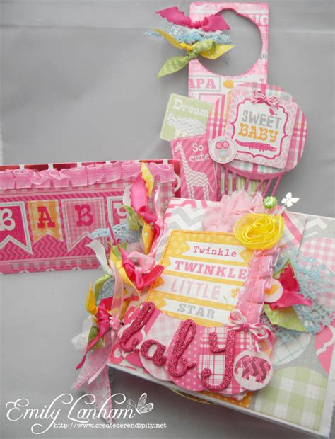 Handmade Baby Shower Gifts - create serendipity sweet shower gifts for a baby